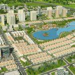 Mặt bằng chi tiết căn biệt thự dự án Vinhomes Wonder Park Đan Phượng